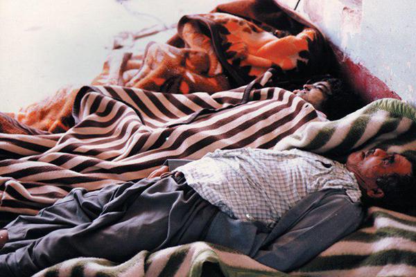 روایتی از خاموش شدن صدای مردم حلبچه در دل خاک