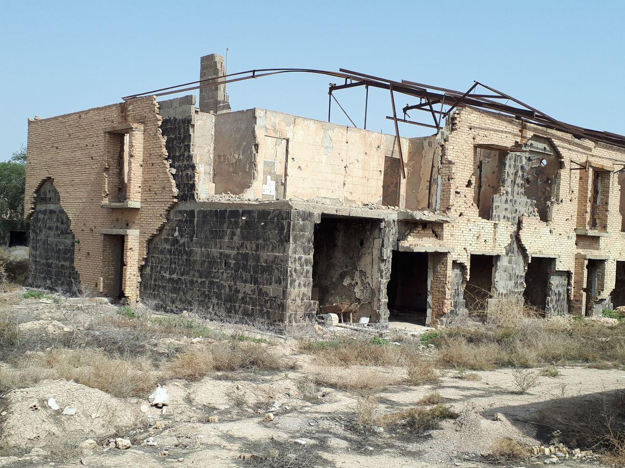 موزه دفاع مقدس آبادان در نقطه صفر مرزی ایران و عراق/ انباری پر از زخمهای جنگ/ سوله ترکش خورده