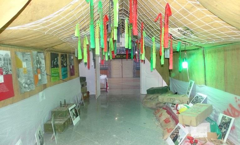 نمایشگاه راهیان نور نیروی زمینی ارتش در دوکوهه افتتاح شد