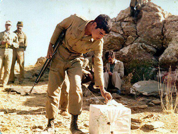 عکس/ رأی یک شهید