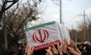 تشییع پیکر پنج شهید حمله به مرز میرجاوه در مشهد