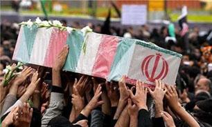 مراسم تشییع پیکر مطهر سه شهید در کرمان