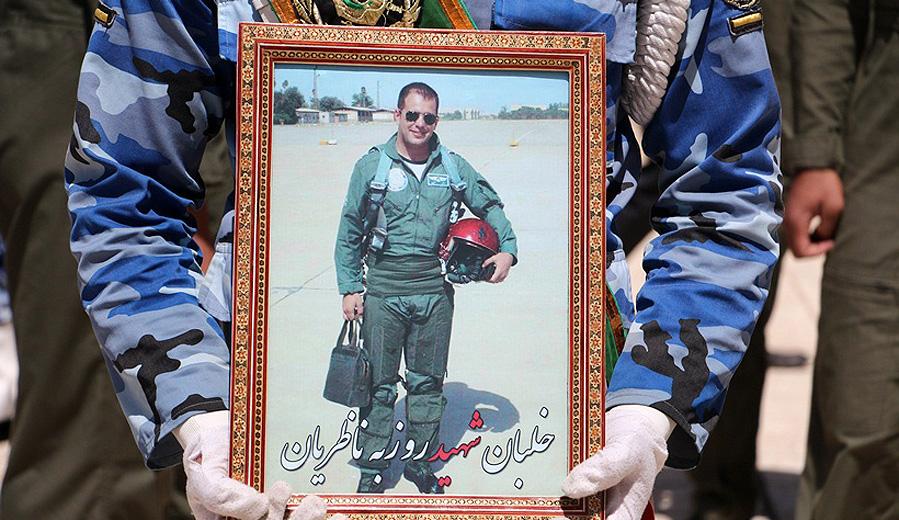 مروری کوتاه بر زندگی شهید سرهنگ دوم خلبان روزبه ناظریان