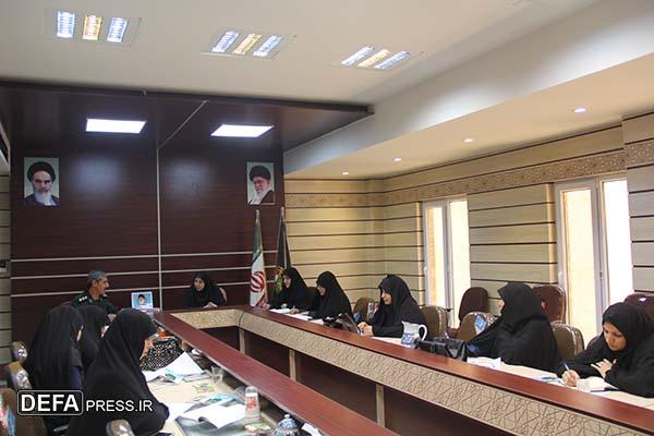 اولین نشست زنان و دفاع مقدس در یزد برگزار شد