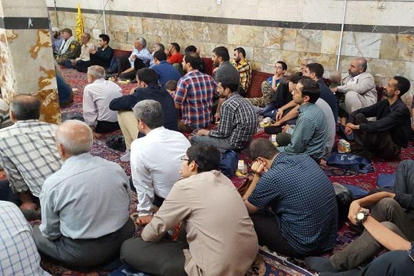 همت فعالان مردمی در برگزاری مراسم  یادبود شهید غریب فاطمیون+ تصاویر