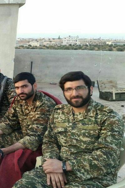 تصاویری از شهیدی که در مرز ایران به کاروان شهدای سوریه پیوست