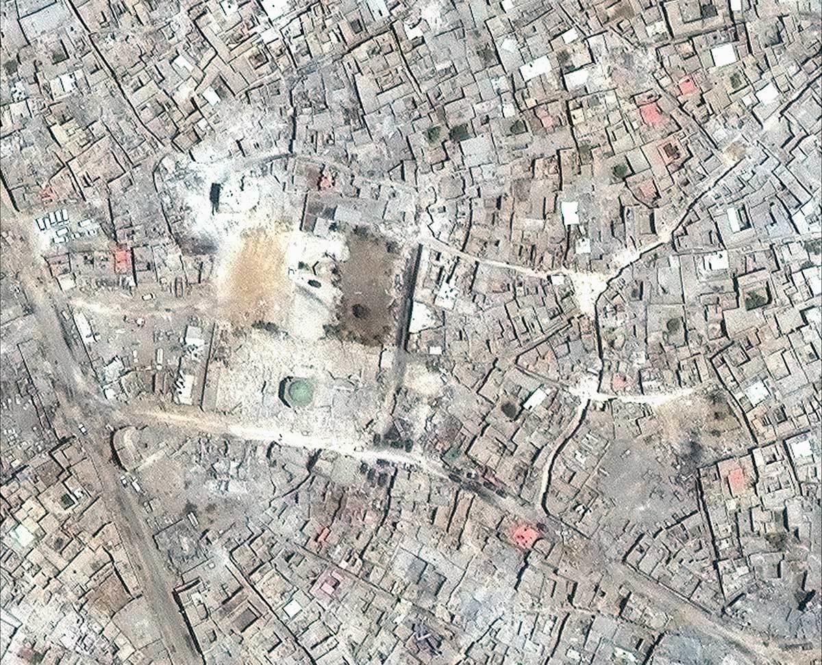 موصل، قبل و بعد از سلطه داعش+ تصاویر