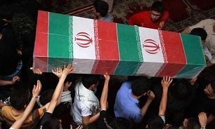 پیکر شهید مدافع حرم « انور یاوری» در پیشوا تشییع شد