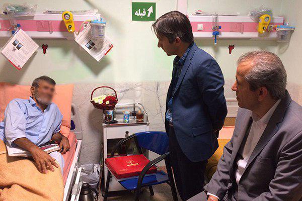 جانباز فلاح در انتظار پیگیری مسئولین ذیربط/ انتقال از پارک به بیمارستان