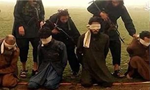 اعدام 5 سرکرده داعشی به اتهام بزدلی