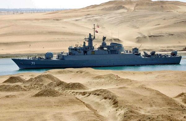 ناوشکن الوند رکوردار دریانوردی در آبهای بینالمللی