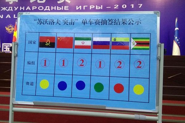 قرعه کشی تیم های«سواروف» و «اربابان سلاح» در «کورلا» چین