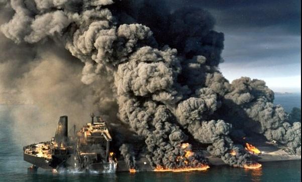 رویارویی دریایی عراق با ایران