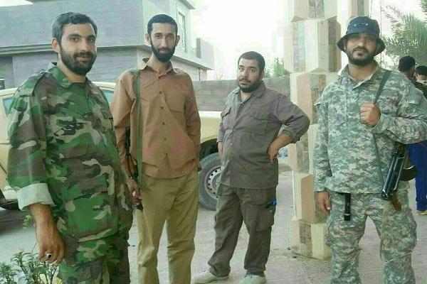 تصویر کامل شده 4 شهید مدافع حرم در یک قاب