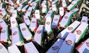 بازگشت پیکر مطهر 119 شهید دوران دفاع مقدس به کشور