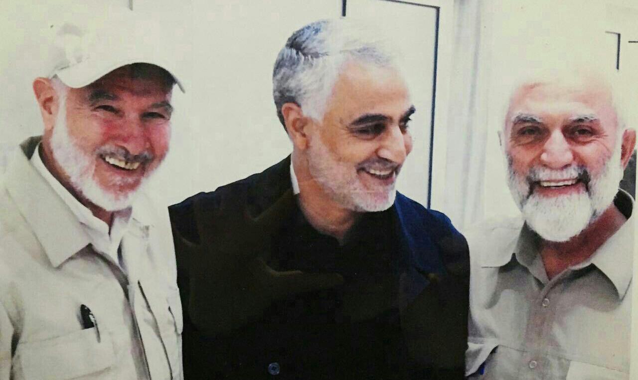 ماجرای آخرین عکس سردار سلیمانی و شهید همدانی