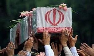 تشییع پیکر مطهر یک شهید گمنام در شهرستان لنگرود