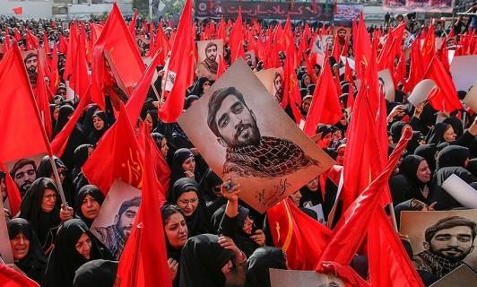 مراسم تشییع پیکر شهید حججی آغاز شد/ حضور گسترده تهرانیها در مراسم وداع با شهید بیسر