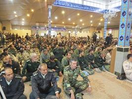 برگزاری مراسم سوگواری 8 تن از شهدای مرزبان در ارومیه