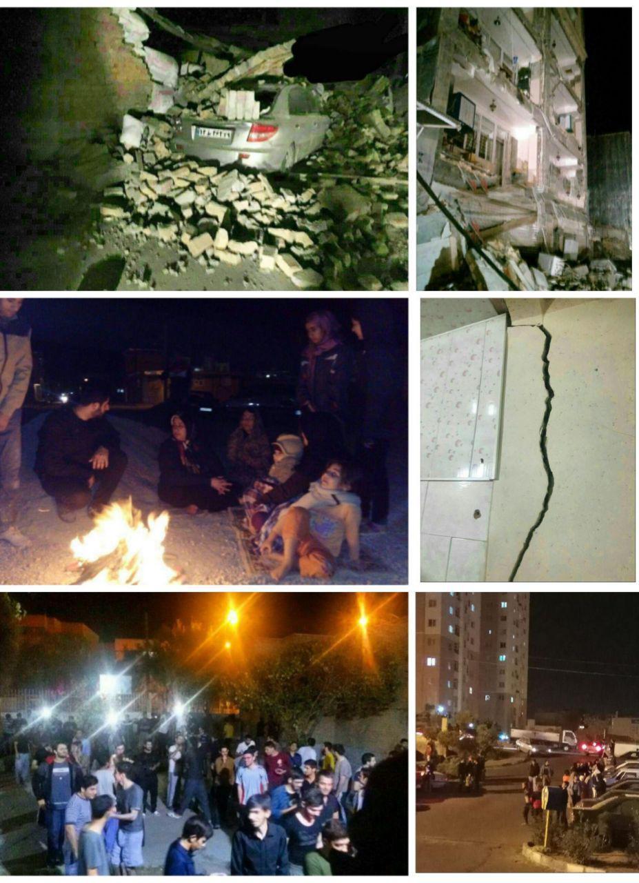 مجروحیت افراد زیادی در قصرشیرین گزارش شده است