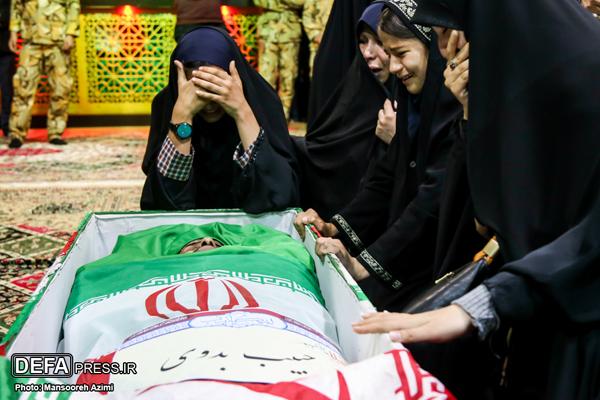 شهید سیاح طاهری الگوی همسرم بود/ حبیب با وجود وضعیت مالی خوب به سوریه رفت