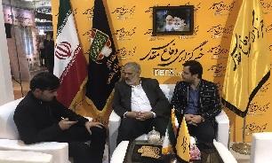 بازدید «حجتالاسلام سیدمحسن شفیعی» از غرفه خبرگزاری دفاع مقدس