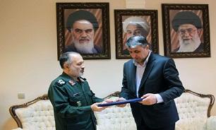 فرمانده قرارگاه سازندگی مرکز فرهنگی دفاع مقدس مازندران منصوب شد