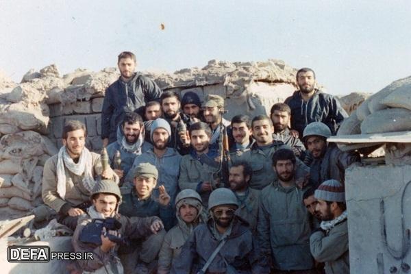 لشکر قدس گیلان فاتح بوارین در عملیات کربلای 5