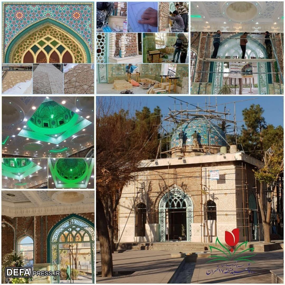 حرم شهدای گمنام منطقه «ابوذر» تهران بزودی افتتاح میشود
