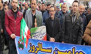 مدیرکل حفظ آثار دفاع مقدس آذربایجان غربی: مردم با حضور پرشور خود نشان دادند که پای انقلاب ایستادهاند
