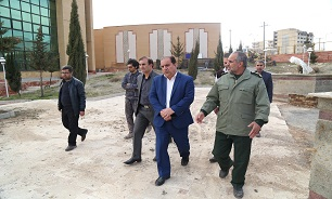 بازدید کرمی از روند ساخت مرکز فرهنگی دفاع مقدس ایلام