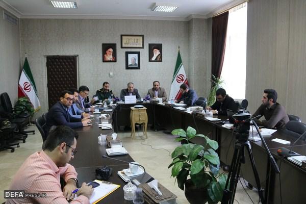 جلسه شورای هماهنگی حفظ آثار دفاع مقدس شهرستان های استان گلستان برگزار شد