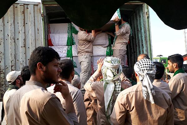 مراسم اسقبال از ۱۱۵ شهید تازه تفحص شده در معراج الشهدای برگزارشد