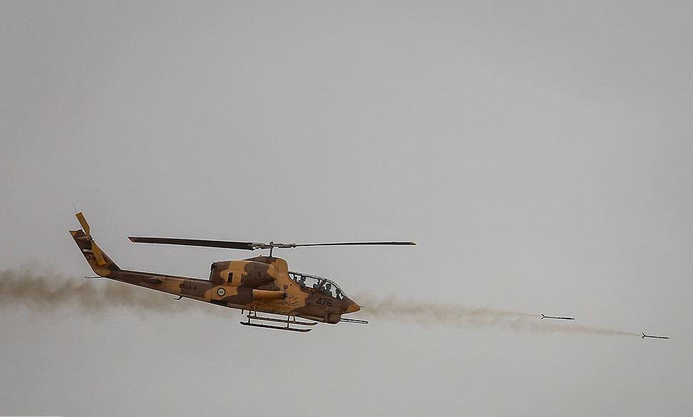 پشتیبانی عملیاتی از قرارگاههای ارتش و سپاه در نقاط مختلف مرزی/ بازآماد 60 فروند بالگرد در یکسال/ در تمامی ماموریتهای مقابله با معاندین حضور داریم