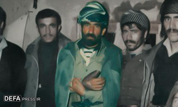 شهید کردستانی از تبار سلمان فارسی