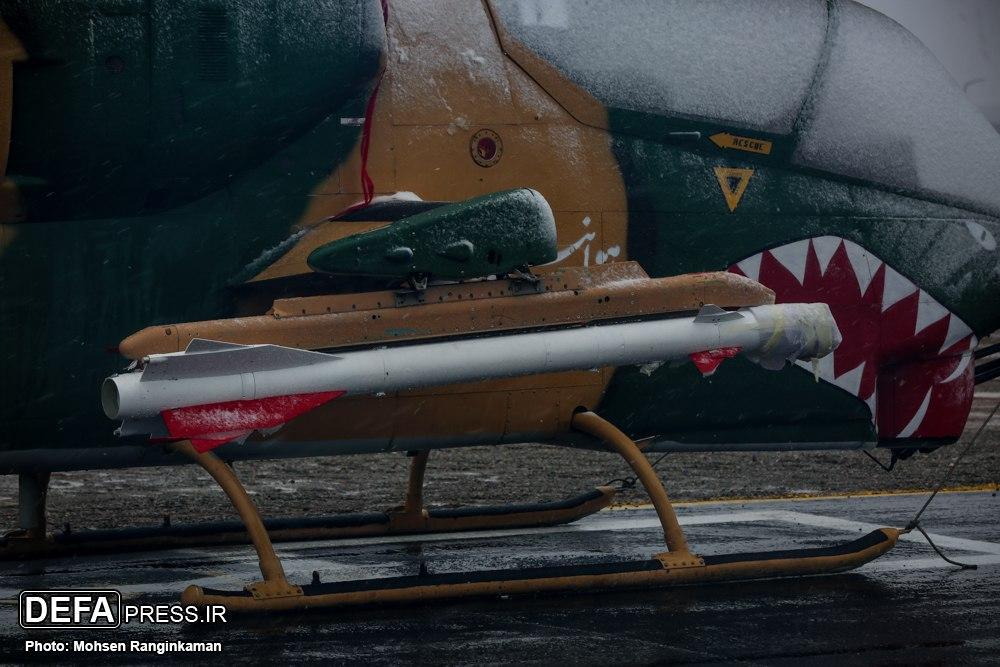 افزایش قابلیت تهاجمی بالگردهای کبرا با استفاده از موشکهای هوشمند