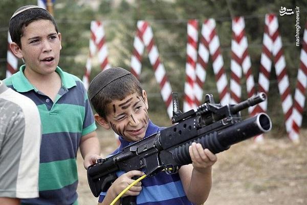 عکس/ از کودکی آموزش میبینند برای کودککُشی