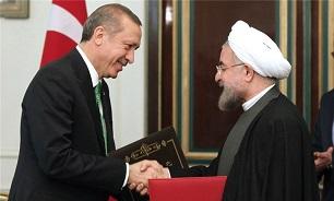 روحانی در تماس تلفنی اردوغان: باید صدای واحد علیه اقدامات آمریکا و اسرائیل بلند شود