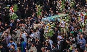 پیکر مطهر شهید «سالم صفرزاده» در قم تشییع شد