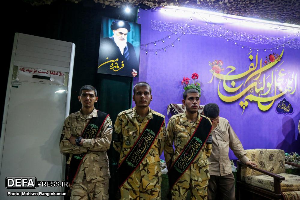 وداع با پیکر مطهر شهید «دانیال صفری» در معراج شهدای تهران