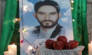 همسر شهید غفاری: پیش از شهادت کمبود حضورش را جبران کرد