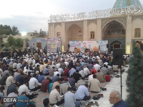 مراسم دومین سالگرد شهادت شهید «مهدی طهماسبی» در قم برگزار شد+ تصاویر