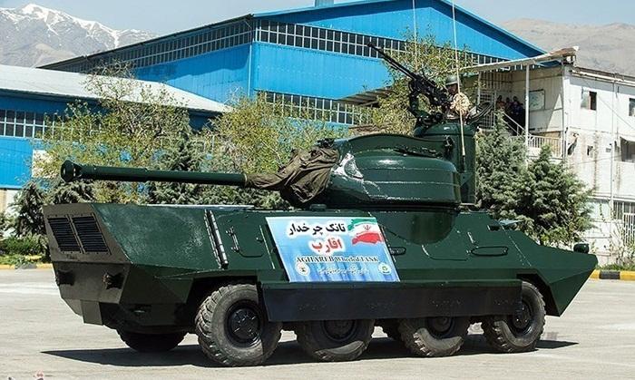 افزایش توان زرهی  نیروی زمینی با تانک «اقارب»