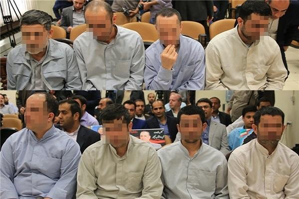 8 عضو گروه داعش به دار مجازات آویخته شدند