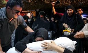 الهی هیچ مادری داغ فرزند نبیند/ در دوران چشمانتظاری دلم مثل هیات محمد از هم پاچید