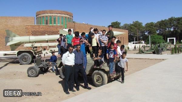 اردوی تابستانی «بچه های آفتاب» در حال برگزاری است/ تصاویر
