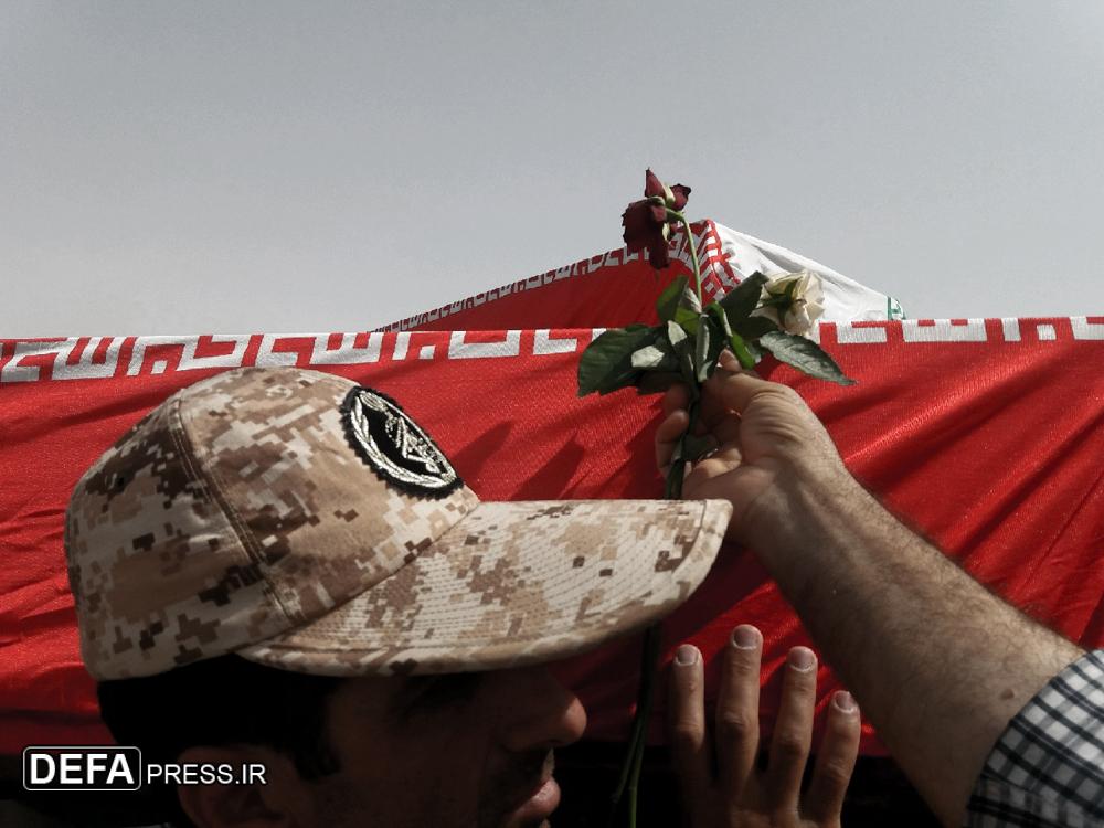پیکرهای 75 شهید دوران دفاع مقدس وارد کشور شدند