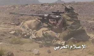 عملیات موفق تکتیراندازان یمنی ضد نظامیان سعودی در جیزان و نجران
