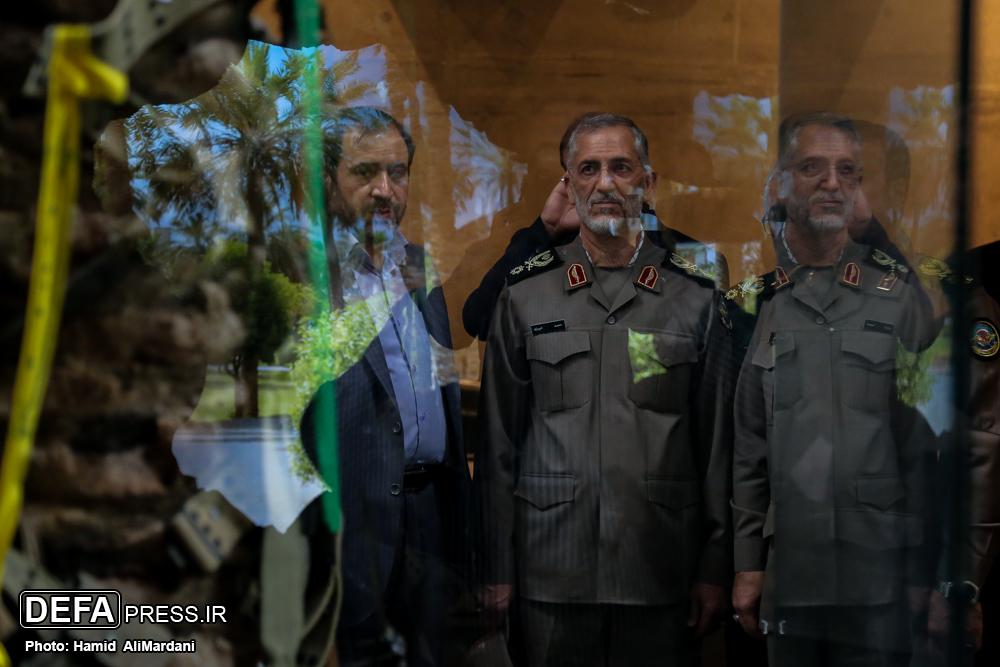 سردار شیرازی از موزه انقلاب اسلامی و دفاع مقدس بازدید کرد