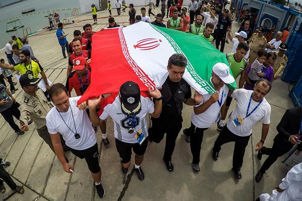 ایران قهرمان مسابقات غواصی ارتش های جهان شد